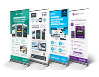 Design Agency/Studio Services Roll-up Banner