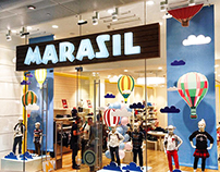 Let's Fly - Window shop - Marasil at Westfield London