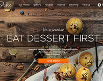 Dulce Confectionary (Landing page)