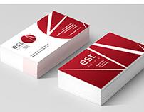 est Latvia LOGO & Business Card