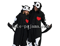 Skelanimal Jack cat animal onesies sale-pajama.com
