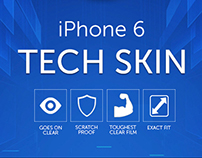 Iphone 6 Tech Skin