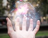 L'univers dans ma main.