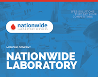 Nationwide Laboratory Services branding and design
