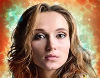 """[2D] Portrait study/Digital painting - Marion """"MC"""""""