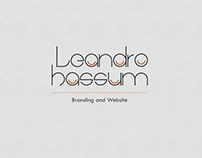 Leandro Hassum | Branding and Website