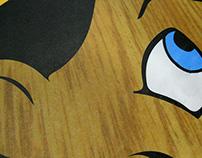 Pinocchio Laminated Floor Vinyl