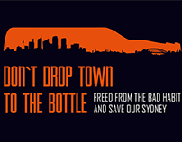 "Poster ""Save Our Sydney From Drink"""