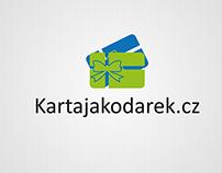 Logo and web - Karta jako darek