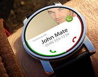 iWatch and Android Watch - Concept