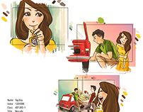 Nescafe Storyboard