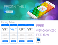 The 8 - Pricing Table (free)