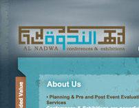 Al Nadwa - Website Design