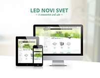 Led Novi Svet e-commerce