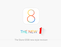 The new1 shop.The store IOS8 new style revision.