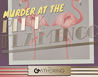 Murder at the Pink Flamingo- 20s' Murder Mystery Game