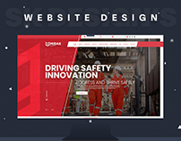 Midas Safety Website Design.