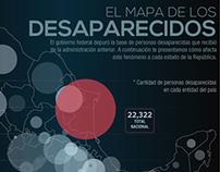 Infografía desaparecidos
