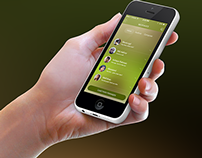Massage iPhone6 app Design