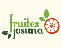 Logotipo Fruites Josuna (2014)