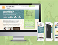 Natural Medicine of Seattle Rebrand + Web Design