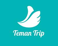 Teman Trip - logo app icon