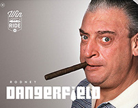 Website Design for Rodney Dangerfield