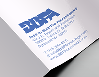 Tri-Fold Brochure for Built to Build Pre-Apprenticeship