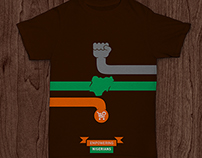 My Entry for The Jumia Shirt Design Contest