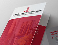 Tri-fold Brochure for Junior League of Brooklyn