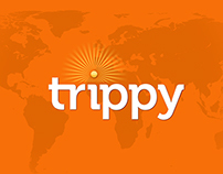 UX/UI Design For The Social Travel Startup Trippy