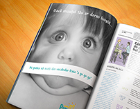 Special Magazine Insert for Pampers
