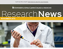 Email Newsletter for UI Carver College of Medicine
