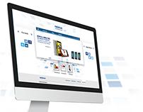 Nokia Website prototype