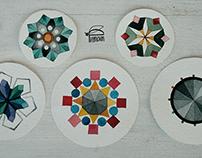 watercolor geometry