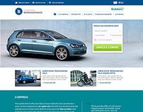 webapp for creating sites of Rodobens representatives