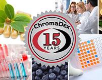 15 Year Anniversary Label - ChromaDex