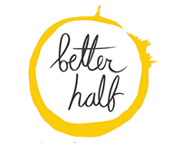 Better Half Coffee Branding