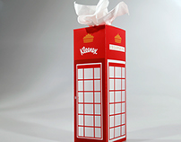 Tissue Box Design - London Phonebooth