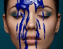 Viscous paint
