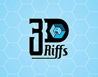 3D Riffs Logo
