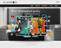 Playroom TV   Responsive Website Design