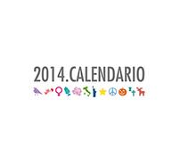 Calendario 2014 / Acsg_Fontegrafica