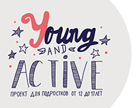 Young and Active. Logo&VisitCard