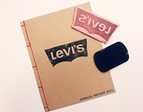 Levi's Annual Report Design