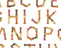 Milk Bones Alphabet
