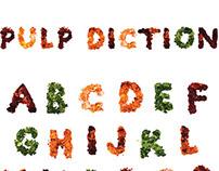 Pulp Diction 3D Type