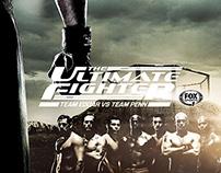 """The Ultimate Fighter"" Season 19 Social Media Design"