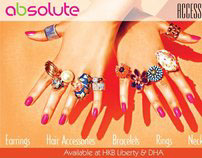 Absolute Accessories Campaign