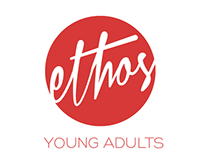 Ethos Young Adult Church Ministry Branding Design
